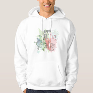 Keep Fit Men's Hooded Sweatshirt