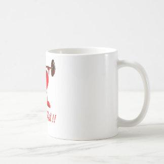 Keep Fit Basic White Mug