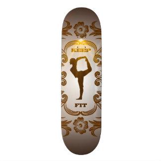 Keep fit skateboards