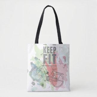 Keep Fit Tote Bag