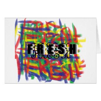 Keep Fresh Greeting Card