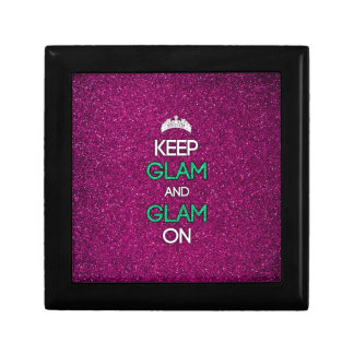 Keep Glam and Glam On Gift Box