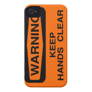 keep hands clear Case-Mate iPhone 4 cases