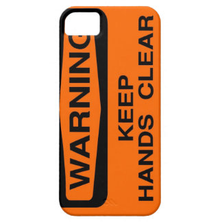 keep hands clear iPhone 5 case