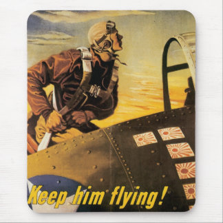 Keep Him Flying! Mouse Pad