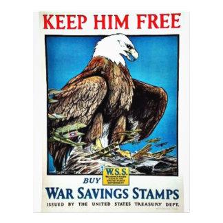 Keep Him Free Flyer
