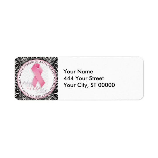 keep hope alive pink ribbon breast cancer