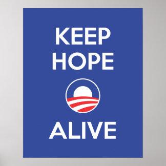 Keep Hope Alive Poster