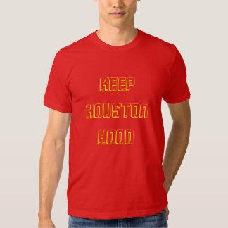 Keep Houston Hood T-Shirt (old school Rockets Red)