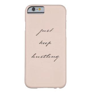 Keep hustling iphone case