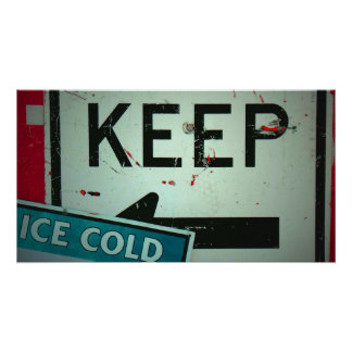 Keep Ice Cold Poster