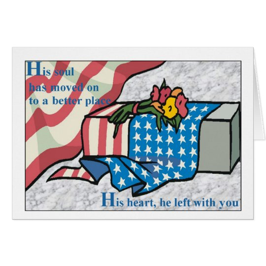 Keep in Your Heart Sympathy Card –F