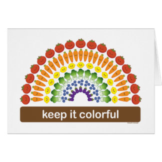 Keep It Colorful Card