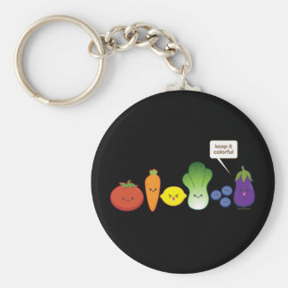 Keep It Colorful! Key Ring