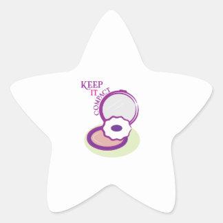 Keep It Compact Sticker