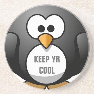 KEEP IT COOL PENGUIN - CUTE PENGUIN COASTERS