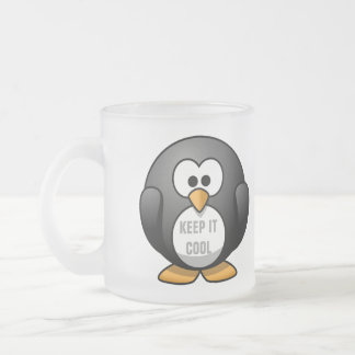 KEEP IT COOL PENGUIN - CUTE PENGUIN COFFEE MUG
