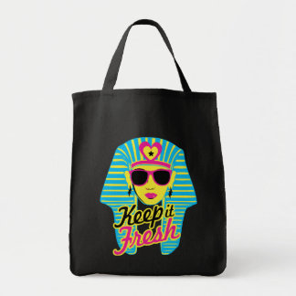 """""""Keep It Fresh"""" 80's Grocery Tote"""