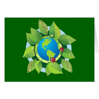 Keep it Green for Earth Day Card