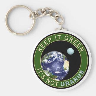 KEEP IT GREEN KEYCHAINS