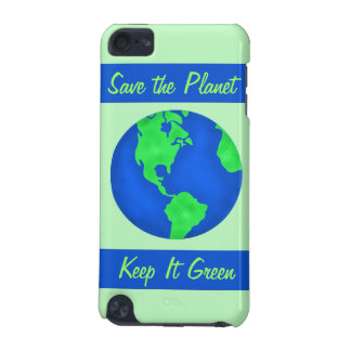 Keep It Green Save Earth Environment Art iPod Touch 5G Case