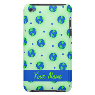Keep It Green Save Earth Environment Art Custom iPod Touch Case