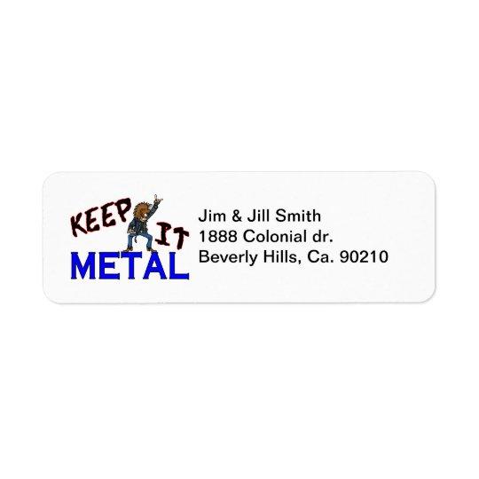 Keep It Metal