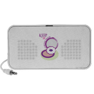 Keep It Powder Fresh Mini Speakers