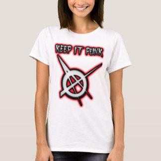 KEEP IT PUNK guys girls Punk Music T-Shirt