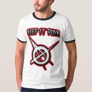 KEEP IT PUNK guys girls Punk Music Tees