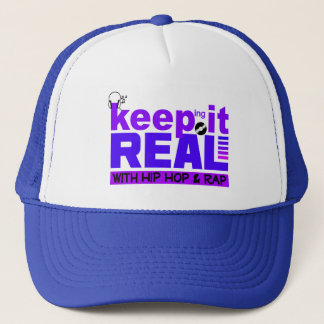 Keep It Real with hip hop  hat