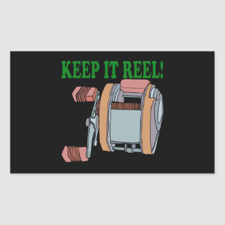 Keep It Reel 2 Rectangle Stickers