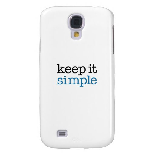 Keep It Simple Samsung Galaxy S4 Covers