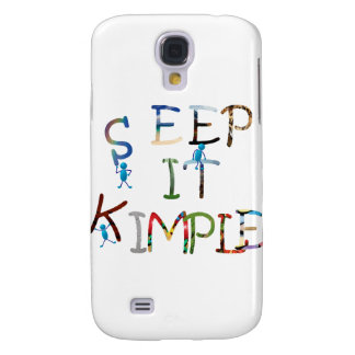 Keep It Simple - Color Galaxy S4 Case