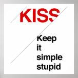 Keep It Simple Stupid - Poster Print
