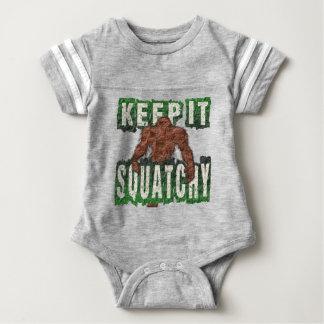 KEEP IT SQUATCHY BABY BODYSUIT