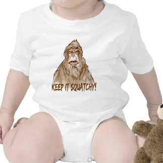 KEEP IT SQUATCHY - Bigfoot Pro s Squatch Head Baby Bodysuit