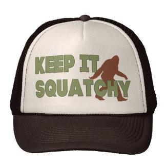 Keep It Squatchy Cap