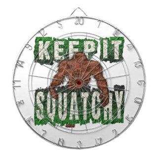 KEEP IT SQUATCHY DARTBOARD