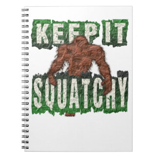 KEEP IT SQUATCHY NOTEBOOK