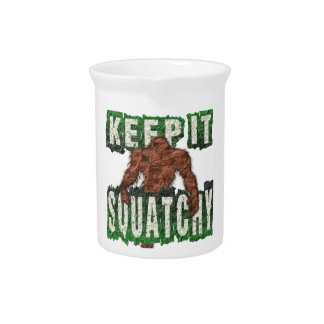 KEEP IT SQUATCHY PITCHER