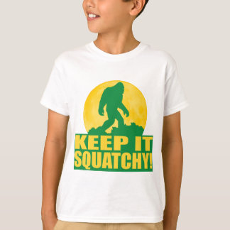 KEEP IT SQUATCHY! Special BARK AT THE MOON edition T Shirts
