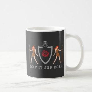 Keep It Sub Rosa Mug