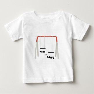 Keep It Swinging Baby T-Shirt