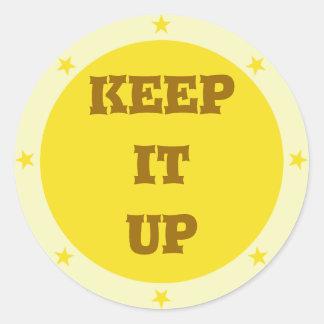 Keep it up - Teacher Sticker Series