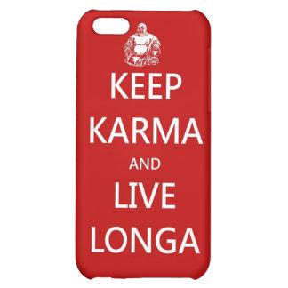 keep karma and live longa iPhone 5C covers