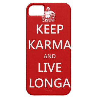 Keep Karma & live Longa iPhone 5 Cover