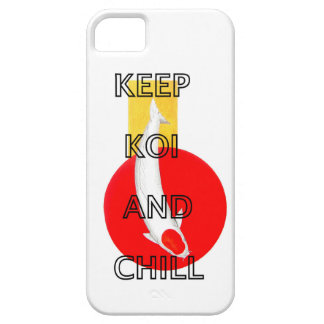 KEEP KOI AND CHILL iPhone 5 CASES