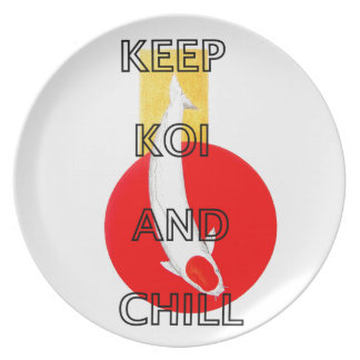 KEEP KOI AND CHILL PLATE