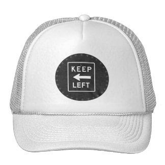 KEEP LEFT - TRUCKER HAT